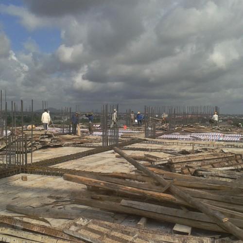 Một số hình ảnh trên Đại công trường xây dựng Bệnh viện Sản nhi Quốc tế Green