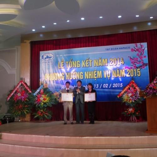 TẬP ĐOÀN HAPACO tổ chức Lễ Tổng kết năm 2014
